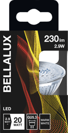 Brand new Bellalux Led light 2.9W