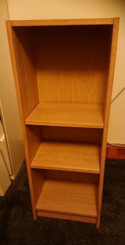 Bookcase Wood effect like ikea Billy book case shelves ...