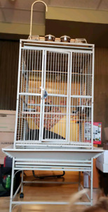 Parrot Cage $200 firm