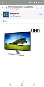 28 inch Samsung 4k Monitor 1ms Response Time (U28D590D)