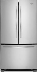 "Whirlpool WRF532SNBM 33"" French Door Refrigerator With 21.5 cubi"