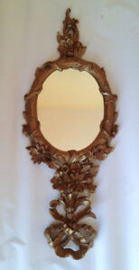 Ornamental Mirror - Hand-Held or Wall Decor. Excellent Condition