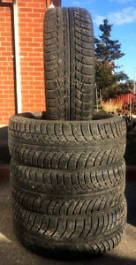 ❄️❄️ (4) GISLAVED NORD 5 WINTER TIRES 205/55/16 ~~ 70% TREAD