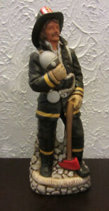 Fire Fighter Old Commonwealth Decanter