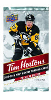 TIM HORTONS 2015-16 UPPER DECK HOCKEY CARDS SARNIA TRADING NIGHT