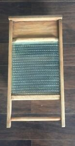 Washboard Cabinet with Towel Rack