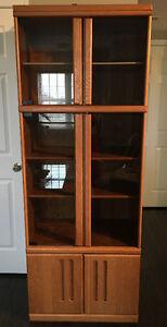 Mid-Century Oak Bookcase