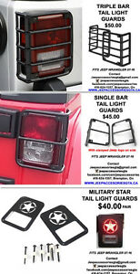 Jeep Wrangler: TAIL LIGHT GUARDS/COVERS (Parts/Accessories)