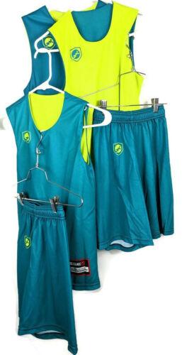 Reversible Jerseys Workout 2 Sets- Small & Medium Kids Siege Clothing Women S