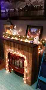 Handcrafted Rustic Fireplace  Peterborough Peterborough Area image 1