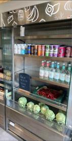 Caravel commercial multideck slimline drinks or foods display chiller