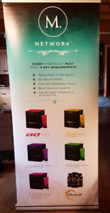 Vertical Pull Up M Product Banner