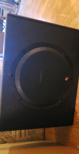 Rockford sub and amp combo