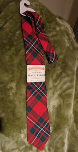 """""""MacGregor"""" Clan Tartan necktie"""