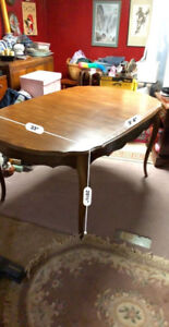 Beautiful wooden dining room table