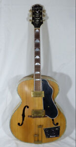 1948 Epiphone Zephyr Deluxe Hollow Body Electric Guitar