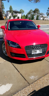 2008 AUDI TT AUTO Canberra City North Canberra Preview