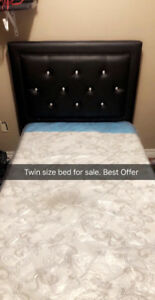 Twin Bed For Sale !!
