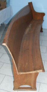 Church Pew - 100 years old