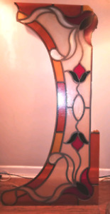 Stained Glass Window Insert/Hanging Decorative Piece