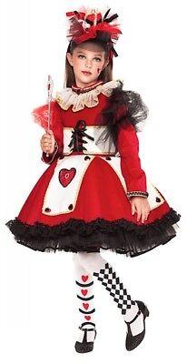 Italienische Herstellung Mädchen Deluxe Königin der Herzen Büchertag ()