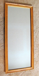Oak Framed Large Wall Mirrors