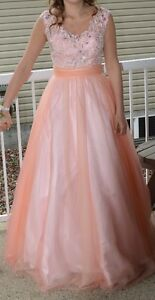 Graduation / Prom Gown - Blush/Nude