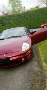 Convertible Mitsubishi eclipse GT spyder