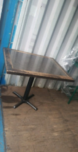 13 Commercial dining table   lot Sale! ALL ONE  MONEY!