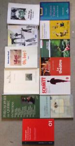 Livres de Cegep - littérature & philosophie & théâtre