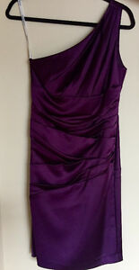 One Shoulded Davids Bridal Special Occasion Dress - New With Tag