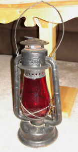 vintage railroad beacon light