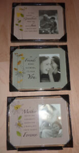NEW Photo frames for Mother, Friend, Grandparents $ 4 each