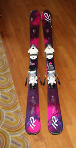 K2 Superfree SUPERMODEL series skis ski 146 excellent w/ binding