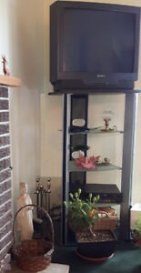 TV STAND and SONY TV