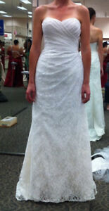 Wedding Dress with tags