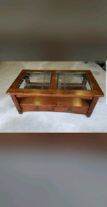 $90 or $225 Refinished - Solid Wood Coffee Table