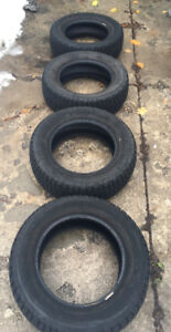 Used Firestone Winterforce tires for sale 205/65R15 94S