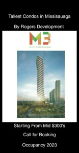 M3 Condos.Tallest Condo Building in Mississauga