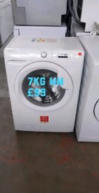 Hoover 7kg washing machine free delivery in Nottingham