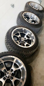 Custom Golf cart wheel package