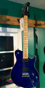 "Blue ""Slammer"" electric guitar (brand-new) Kingston Kingston Area image 1"