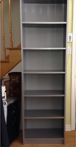 Silver / Grey Bookcase: Very good condition