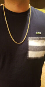 Chaine en or / gold chain franco 10k