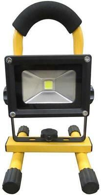 SCA RECHARGEABLE CORDLESS FLOODLIGHT LED 10W COB 7.4V LITHIUM   CAMPING OUTDOOR