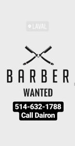 Barber / Barbier Wanted