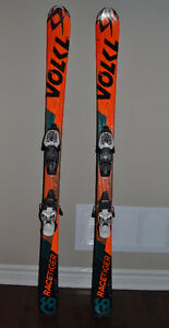 Volkl RaceTiger GS Ski 140 cm with Marker Bindings