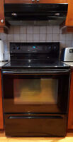 "Great condition Maytag black 30"" oven!"