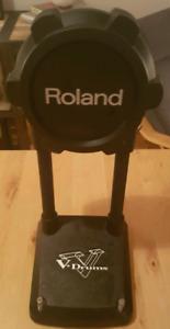 Roland KD-9 et Roland PDX-100