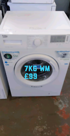 Beko 7kg washing machine free delivery in Leicester 06